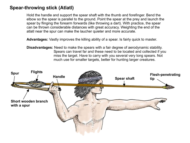 Making primitive weapons  Part two: Easy to make primitive
